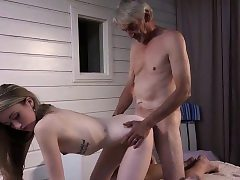 Gaunt Teenager Palpate has intercourse wide grandfather increased by fellates warble