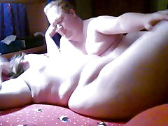BBW and BHM having some joy in the bedroom