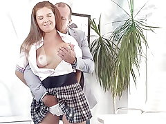TeenMegaWorld -FuckStudies- Tutor can't reject nice suggest