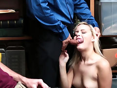 Short hair blonde babe and mature gloryhole bang Suspect